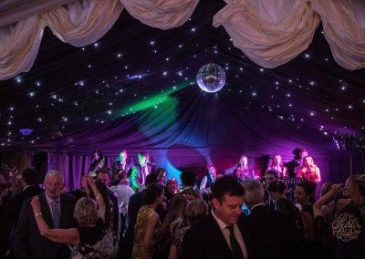 Dancefloor at wedding in bristol